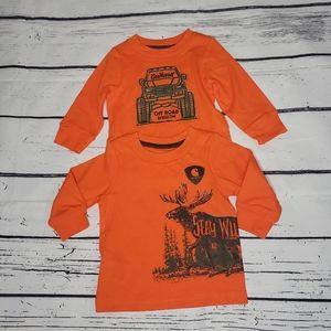 Carhartt Baby Long Sleeve Stay Wild T-Shirt 0-3M